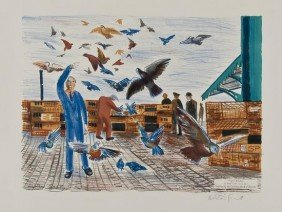 Alistair Grant (1925-1997) Pigeon Racing