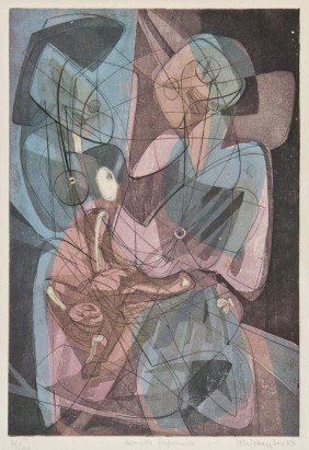 Stanley William Hayter (1901-1988) Famille Japonai