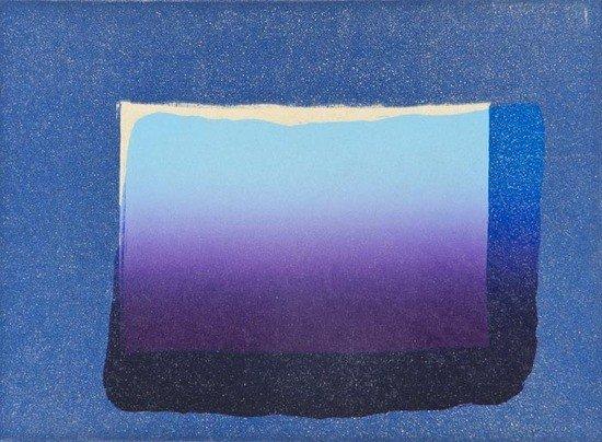 77: Howard Hodgkin (b.1932) Sky, from 'More Indian Vie