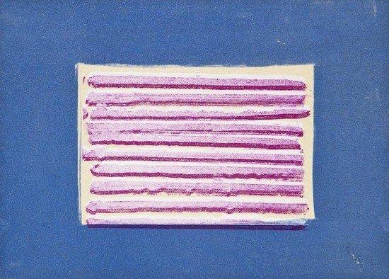 80: Howard Hodgkin (b.1932) Shutter, from 'More Indian