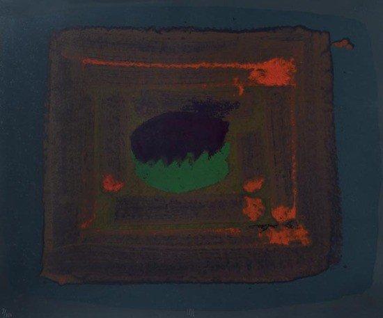 81: Howard Hodgkin (b.1932) Untitled