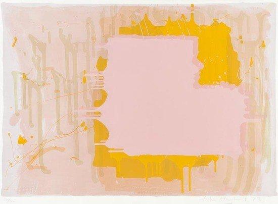 82: John Hoyland (1934-2011) Untitled