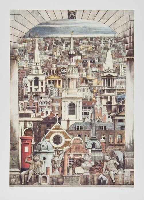 88: Andrew Ingamells (b.1956) Prospectum Londinensis