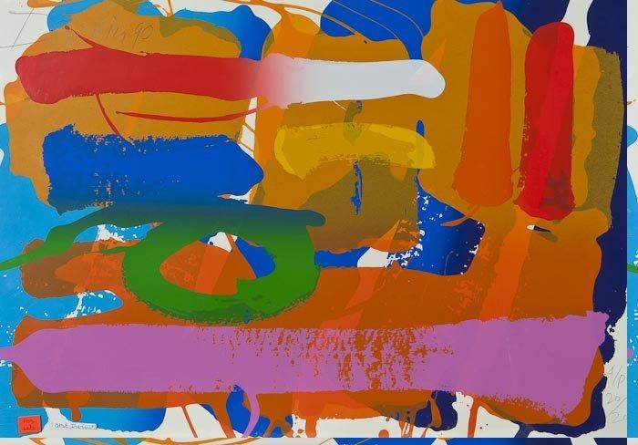 89: Albert Irvin (b.1922) Rutland
