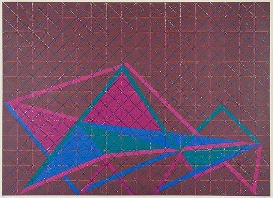 91: David Leverett (b.1938) Untitled