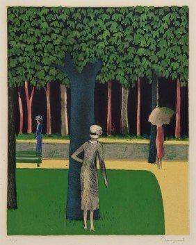 Jean-Pierre Cassigneul (b.1935) Promenade Dans Le