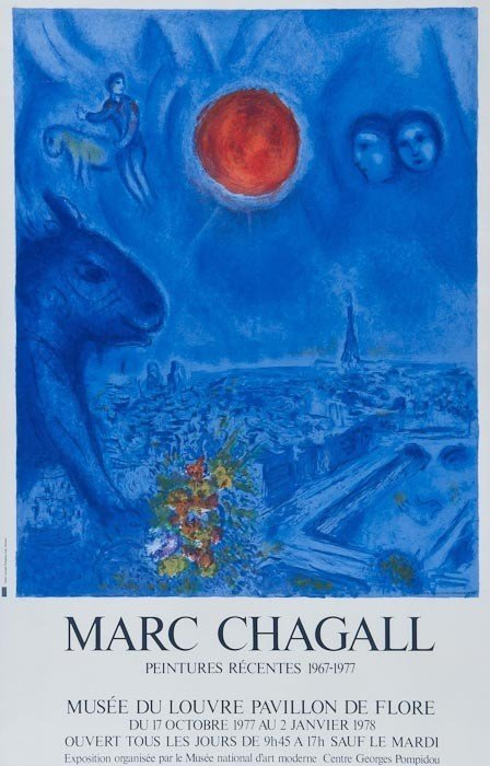 175: Marc Chagall (1887-1985)(after) Pientures Recentes