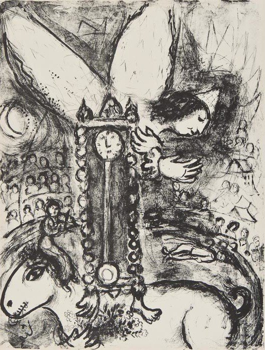 """179: Marc Chagall (1887-1985) from """"Le Cirque"""" (m.514)"""