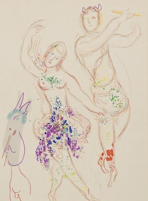 181: Marc Chagall (1887-1985) Le Ballet (m.581)