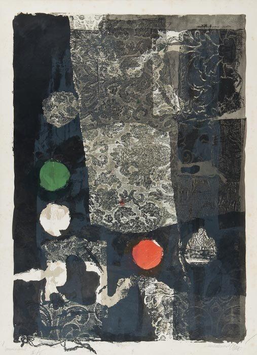 188: Antoni Clavé (1913-2005) Untitled