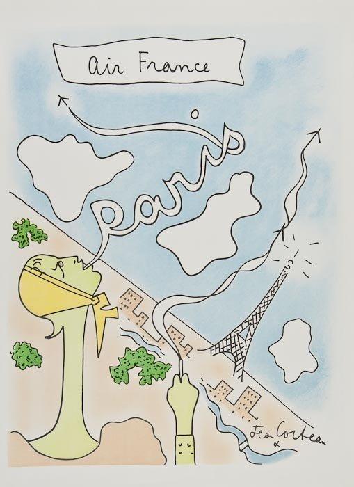189: Jean Cocteau (1889-1963) Untitled