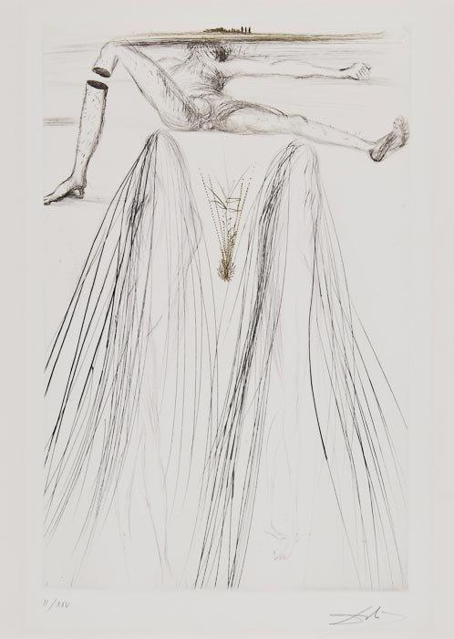 192: Salvador Dalí (1904-1989) Le Géant Béliagog (M.L.4