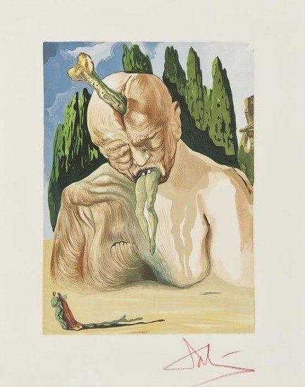 193: Salvador Dalí (1904-1989) A Devil Logician (m.&l.1