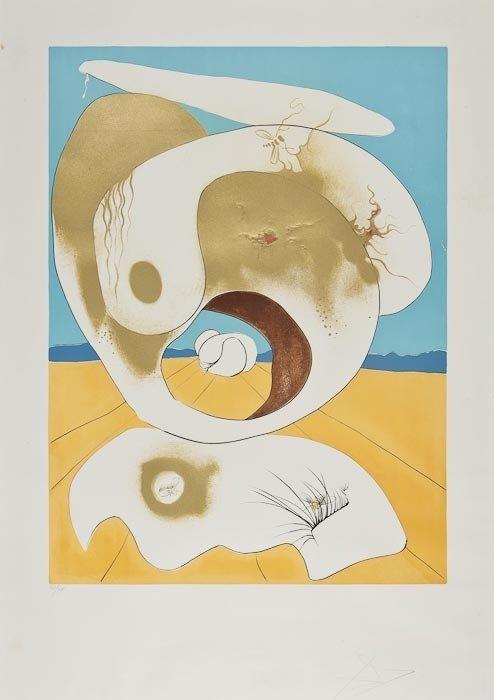 194: Salvador Dali (1904-1989) Vision planetaire et sca