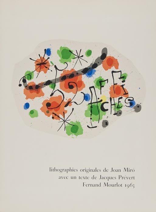 233: Joan Miro (1893-1983) 52 Affiches