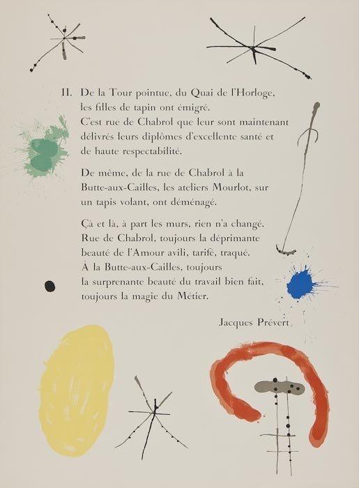 233: Joan Miro (1893-1983) 52 Affiches - 2