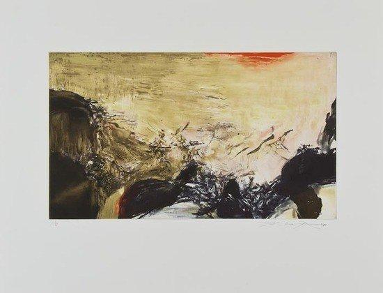 536: Zao Wou-Ki (b.1921) Agerup (R.302a)