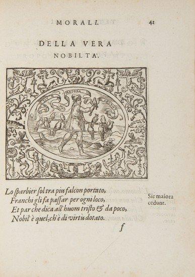 1: Giovio (Paolo) Le Sententiose
