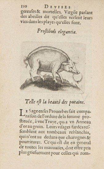 8: Paradin (Claude) Devises Heroiques et Emblemes