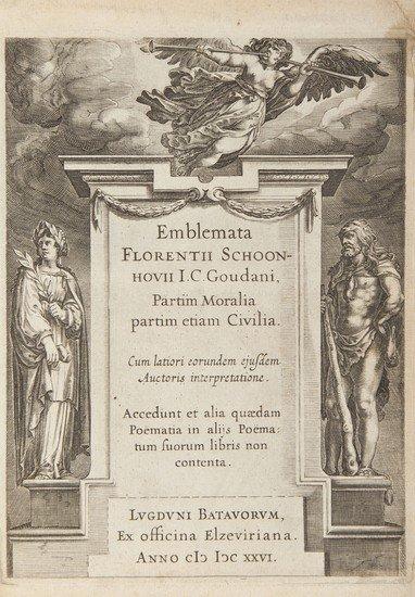 9: Schoonhovius (Florentius) Emblemata...Partim Moral