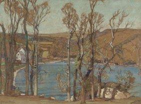 Samuel John Lamorna Birch RA (1869-1955) The Mill