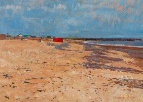 William Bowyer RA (b.1926) The Beach
