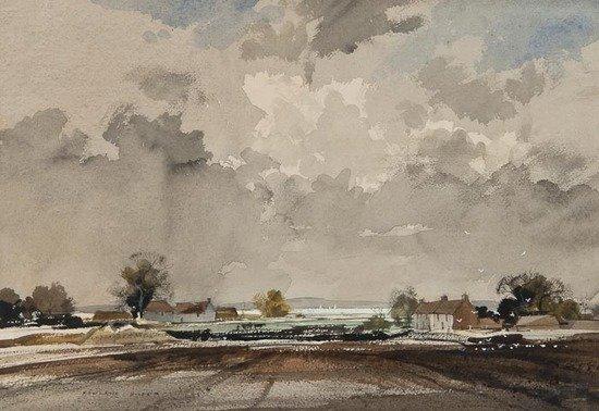 101: Rowland Hilder OBE PRI (1905-1993) The Medway
