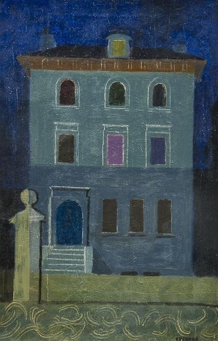 114: John Humphrey Spender (1910-2005) House Front