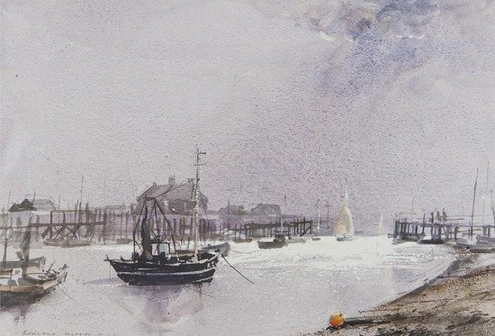 116: Rowland Hilder OBE PRI (1905-1993) Rye Harbour