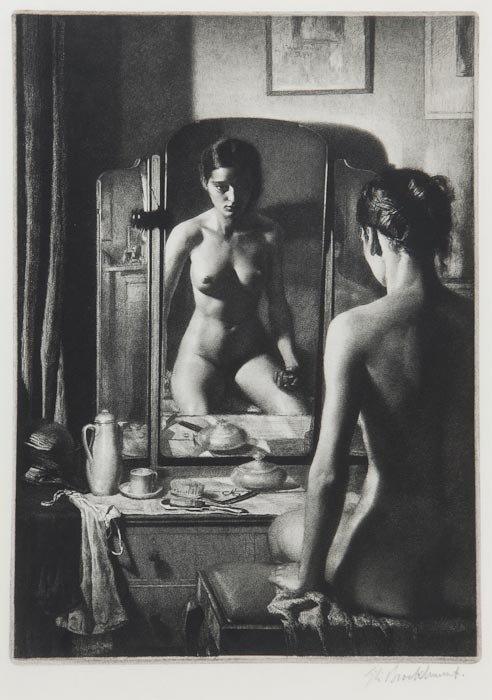 226: Gerald Leslie Brockhurst (1890-1978) Adolescence