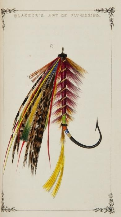 33: Blacker (William) Blacker's Art of Fly Making...