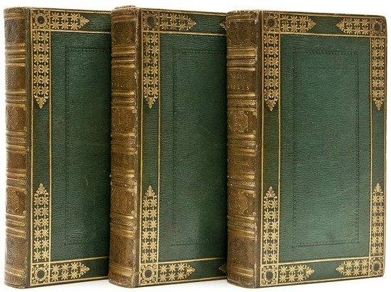 103: (Rev. William Barker)] Rural Sports, 3 vol., engra