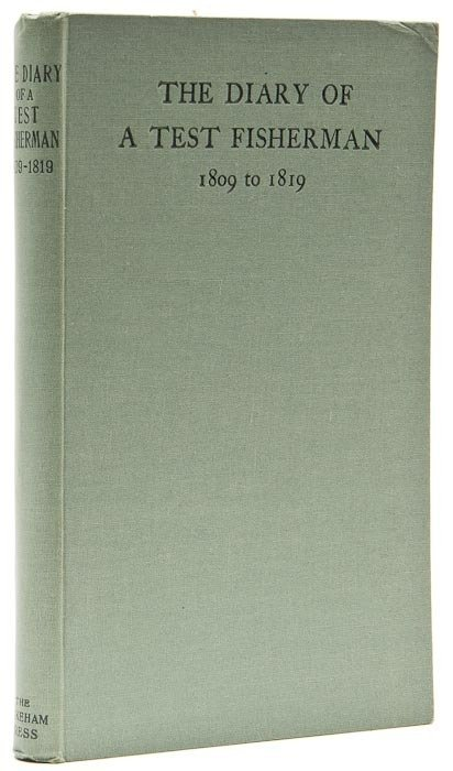 117: (Rev. Richard) The Fishing Diary, 1809-1819, of th