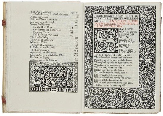 2: Morris (William) Poems by the Way