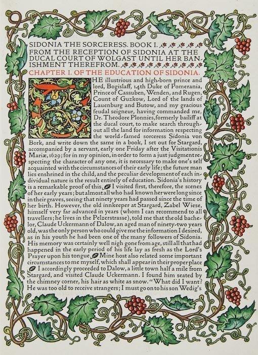 19: Meinhold (William) Sidonia the Sorceress