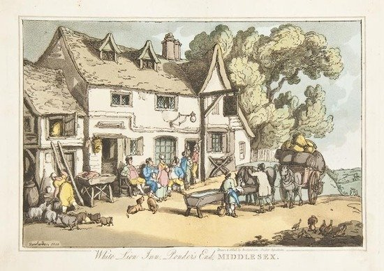 125: Rowlandson (Thomas) Sketches from Nature