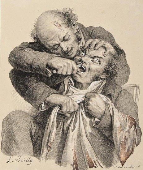 129: Boilly (Louis-Leopold) [Les Grimaces]