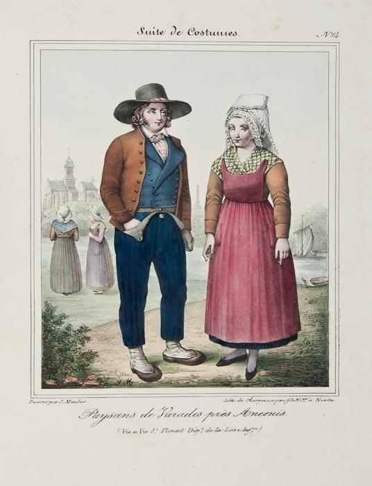 130: Costume.- Charpentier (H.) Recueil des Costumes de