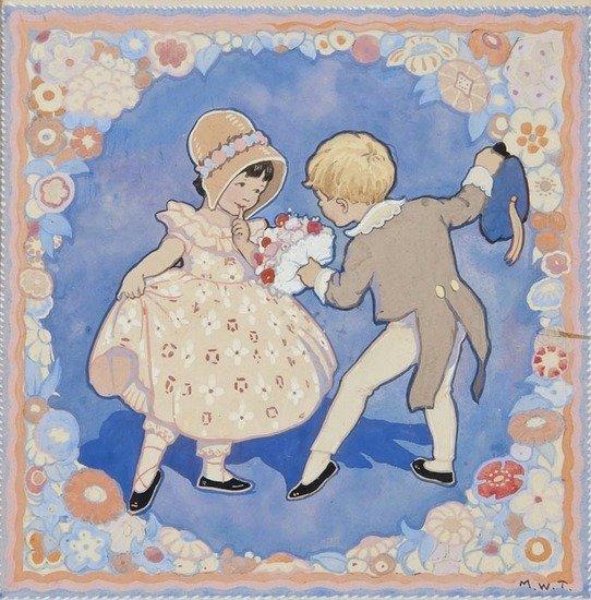 138: Tarrant (Margaret Winifred) A pair of illustration