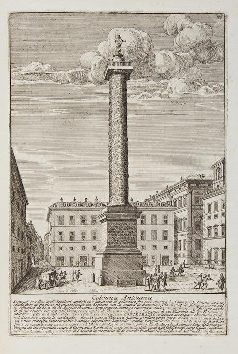 142: Bartoli (Pietro Santi) Gli antichi sepolcri, ovver