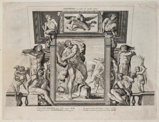 143: Carracci (Annibale) Galeriae Farnesianae icones Ro