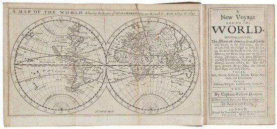 329: (Capt. William) [The Voyages] 3 vol., comprising A