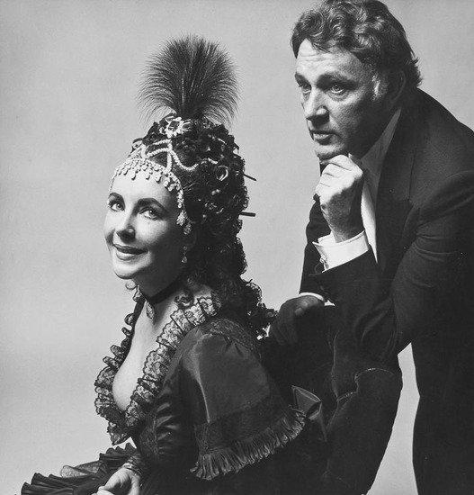 74: Cecil Beaton (1904-1980) Elizabeth Taylor & Richar