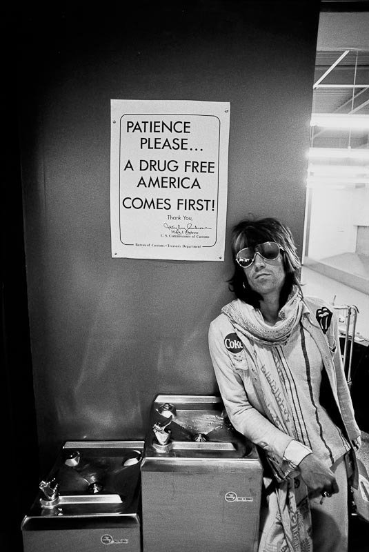 """140: Ethan Russell (b.1945) Keith Richards, """"Patience P"""
