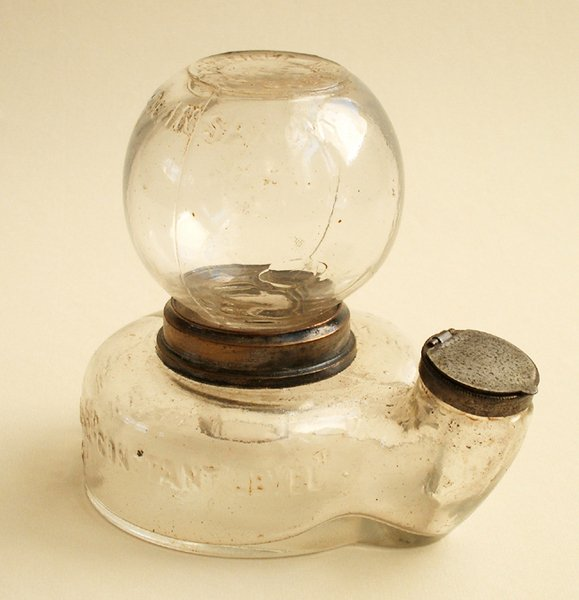 """12A: PATENT AUTOMATIC """"CONSTANT LEVEL"""" INKWELL"""