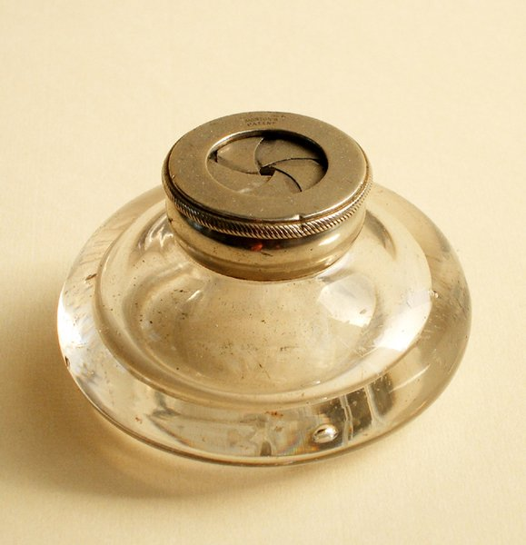 14A: MORTON'S PATENT INKWELL AND TWO OTHERS