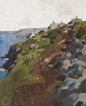 2: Sir Kyffin Williams (1918-2006) Coastal Scene, Ang