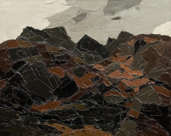 3: Sir Kyffin Williams (1918-2006)  Moelwyn Bach in A