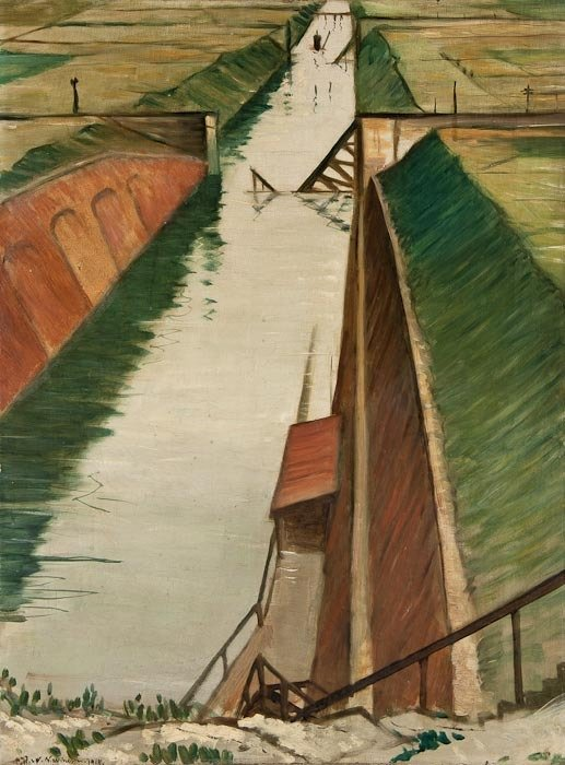 5: Christopher Richard Wynne Nevinson (1889-1946) Des