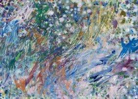 14: Gillian Ayres (b.1930) Abstract Composition